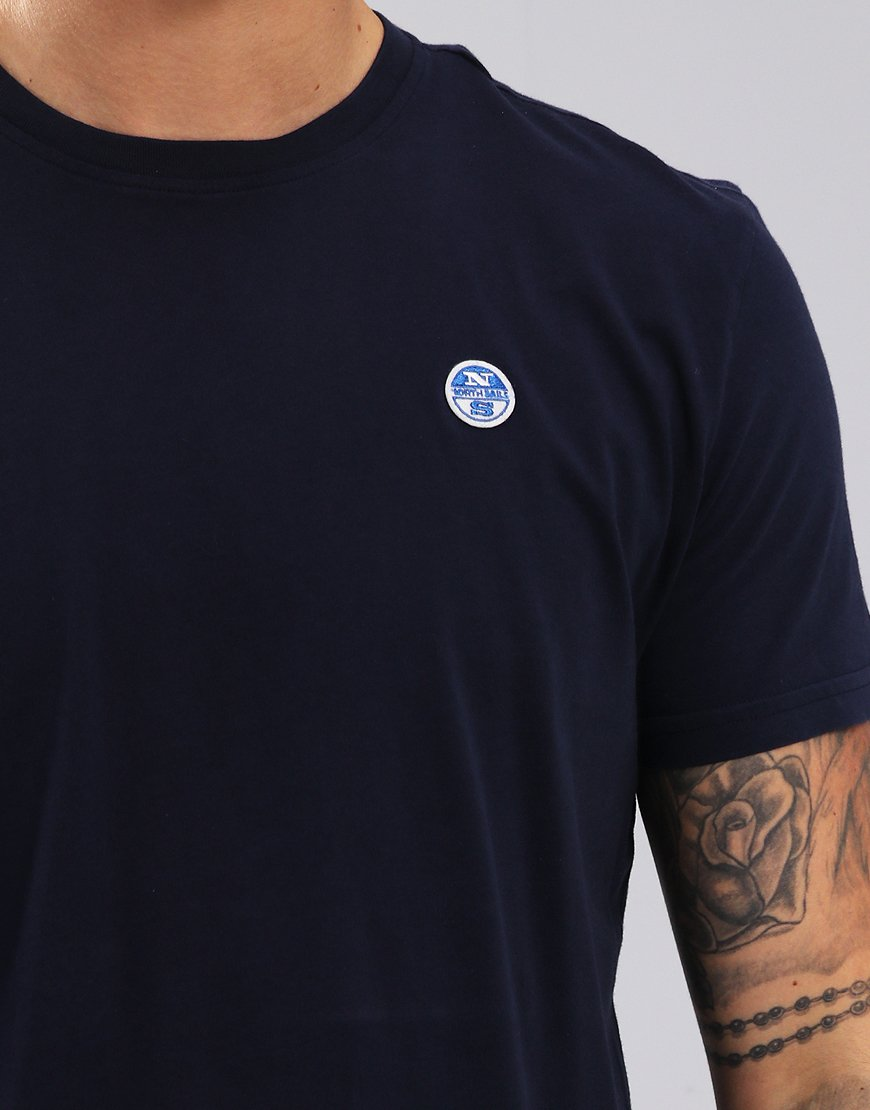 North Sails Plain T-Shirt Navy Blue
