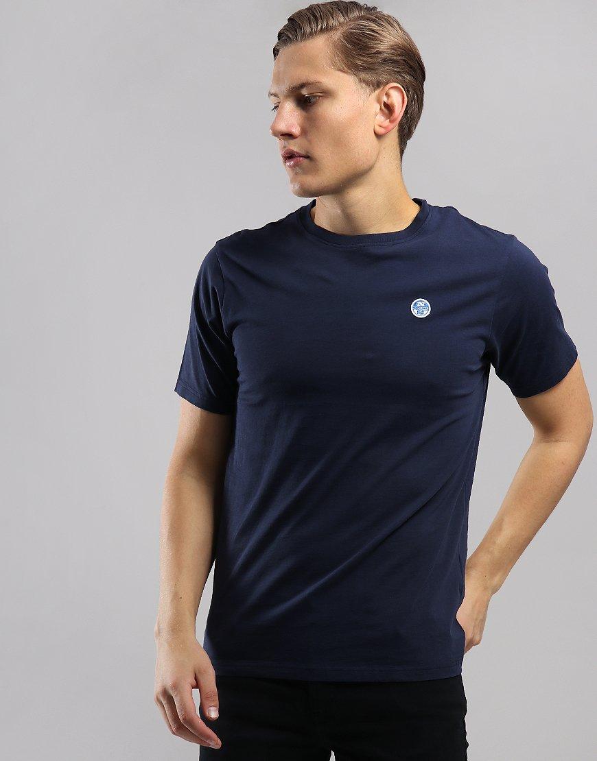North Sails Plain T-Shirt Navy Blue