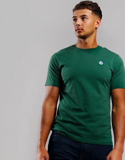 North Sails Plain T-Shirt Green