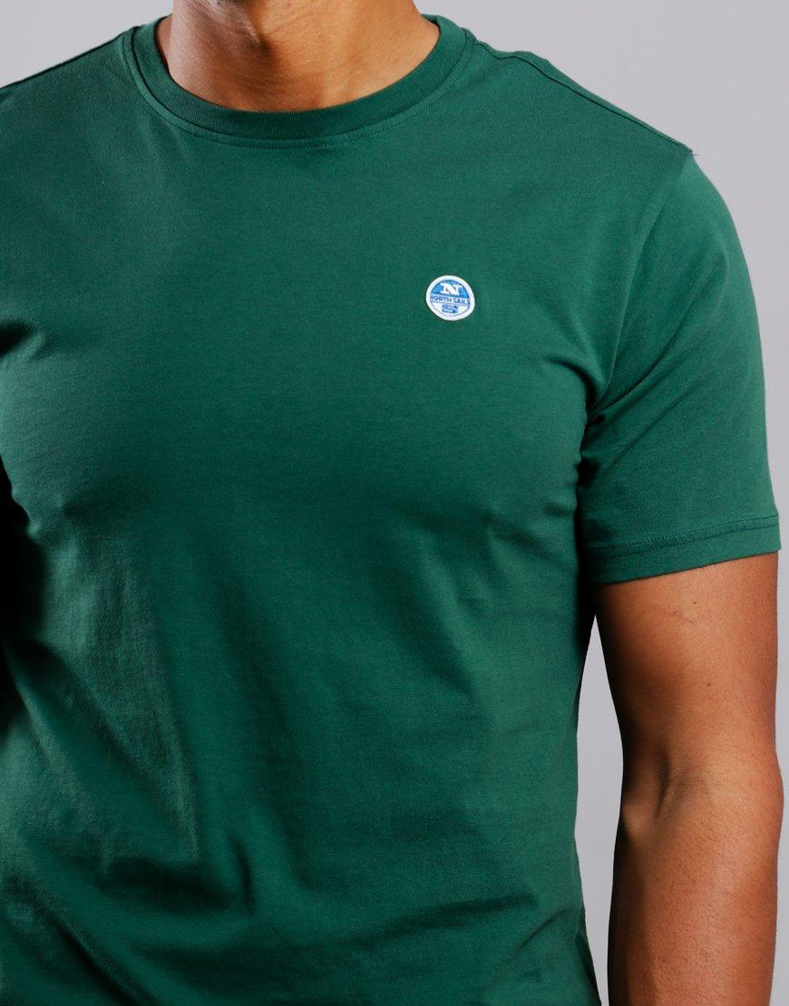 North Sails Plain T-Shirt Green