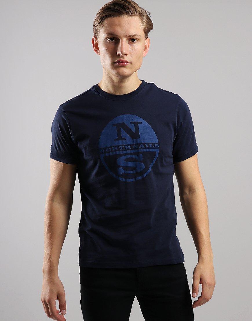 North Sails Print T-Shirt Navy Blue