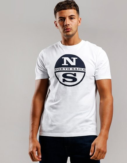 North Sails Print T-Shirt White