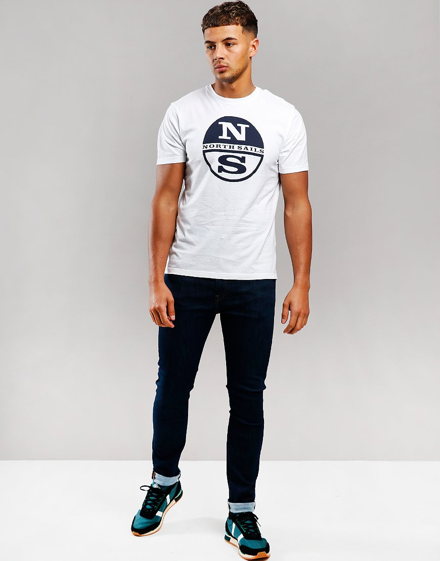 North Sails Print T-Shirt White