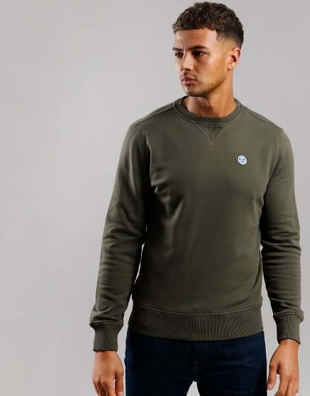 North Sails Round Neck Sweat Grape Leaf