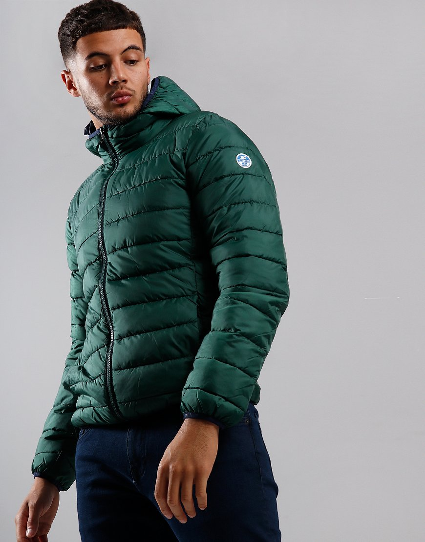 North Sails Skye Hooded Jacket Green