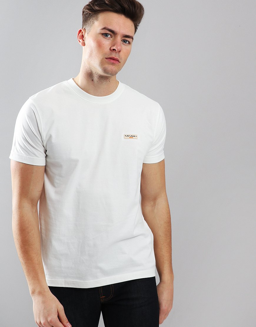 Nudie Daniel T-Shirt Off White
