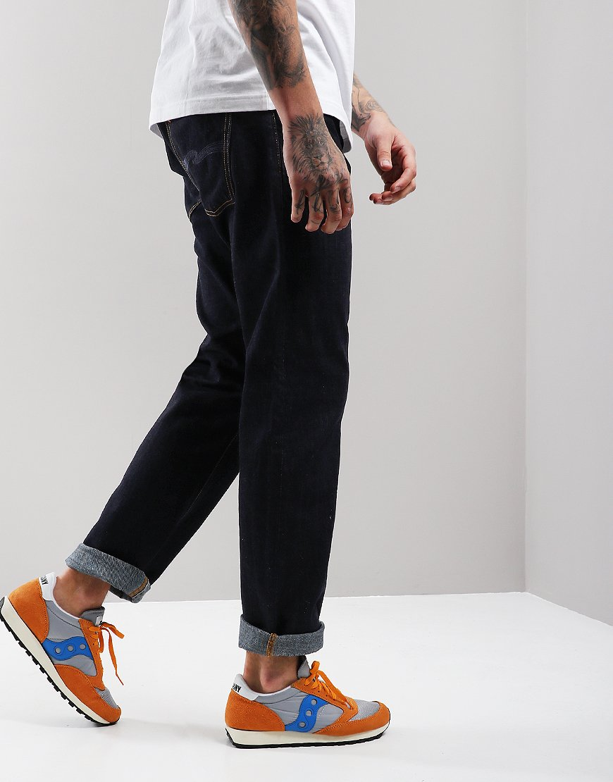 Nudie Sleepy Sixten Relaxed Jeans Rinsed