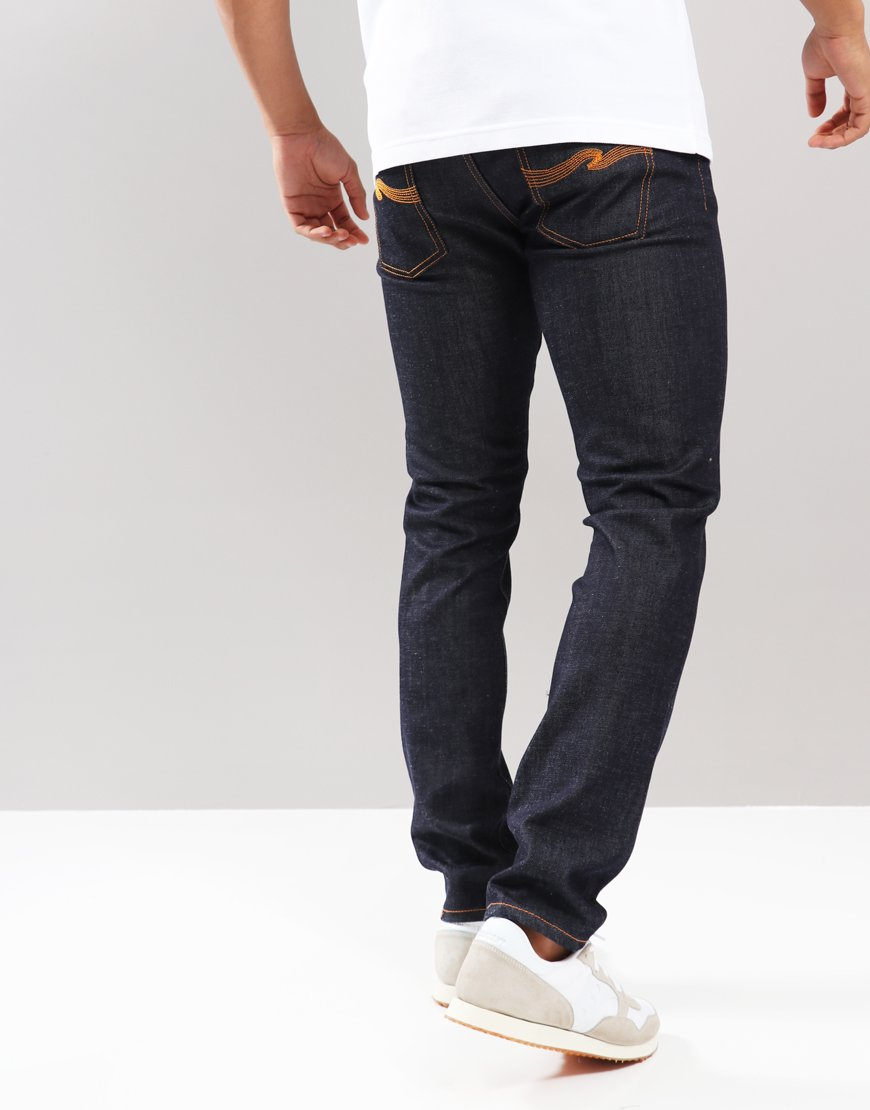Nudie Steady Eddie II Tapered Fit Jeans Dry True