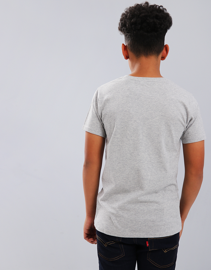 7b9e653fe55 Gant Kids Original Shield T-Shirt Light Grey Melange - Terraces Menswear