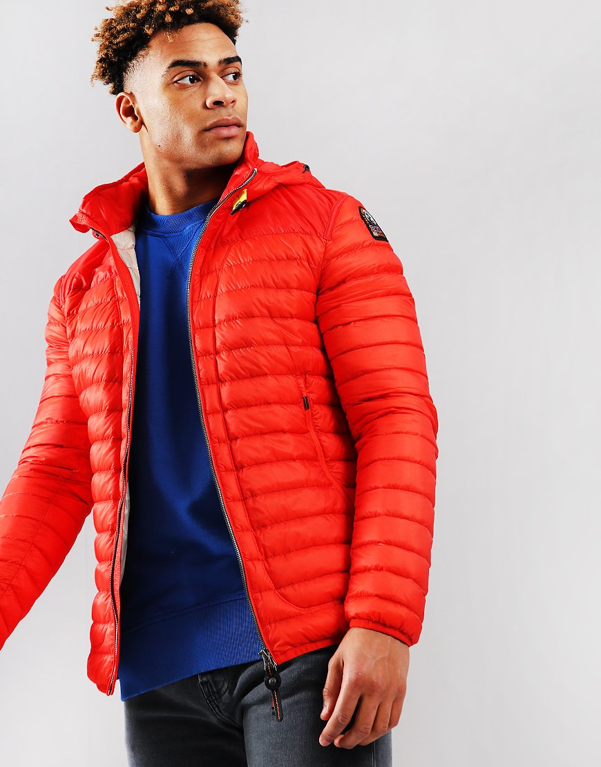 Parajumpers Alvin Lightweight Down Jacket Orange