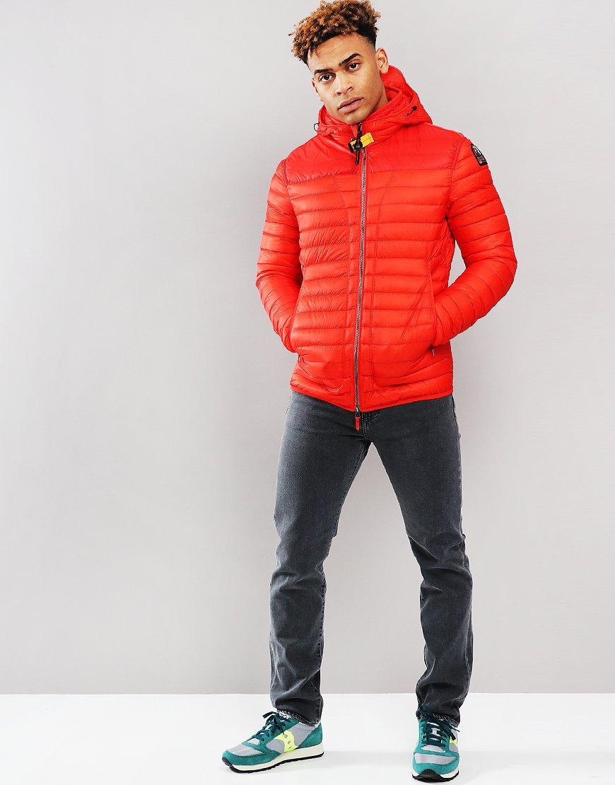 Parajumpers Alvin Lightweight Down Jacket Orange