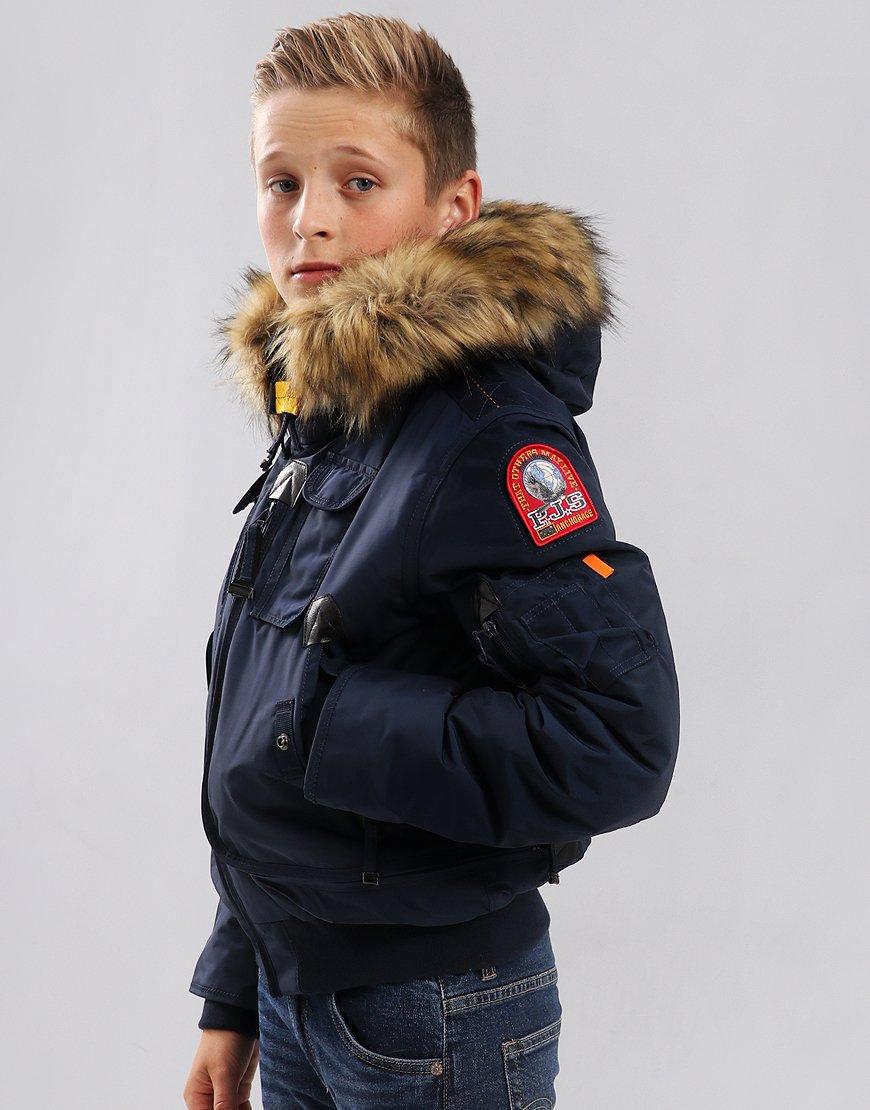 Parajumpers Kids Gobi Eco Bomber Jacket Cadet Blue
