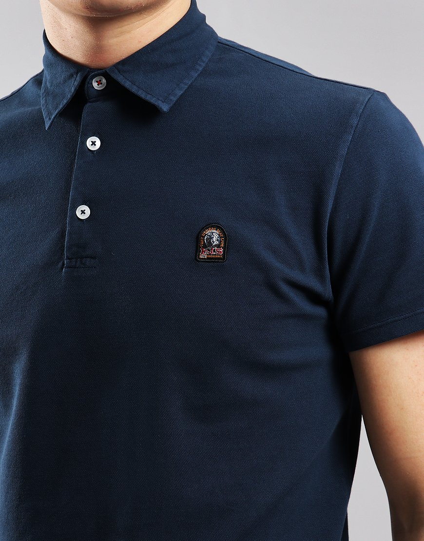 Parajumpers Hugh Polo Shirt Navy