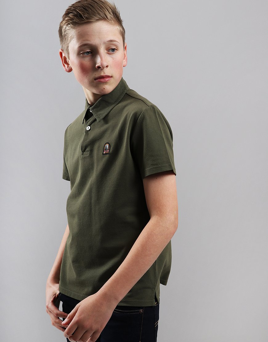 Parajumpers Kids Hugh Polo Shirt Green