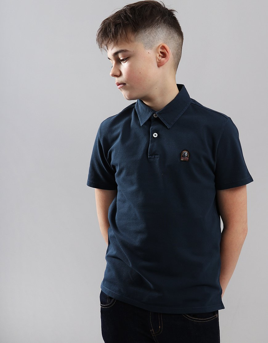 Parajumpers Kids Hugh Polo Shirt Navy