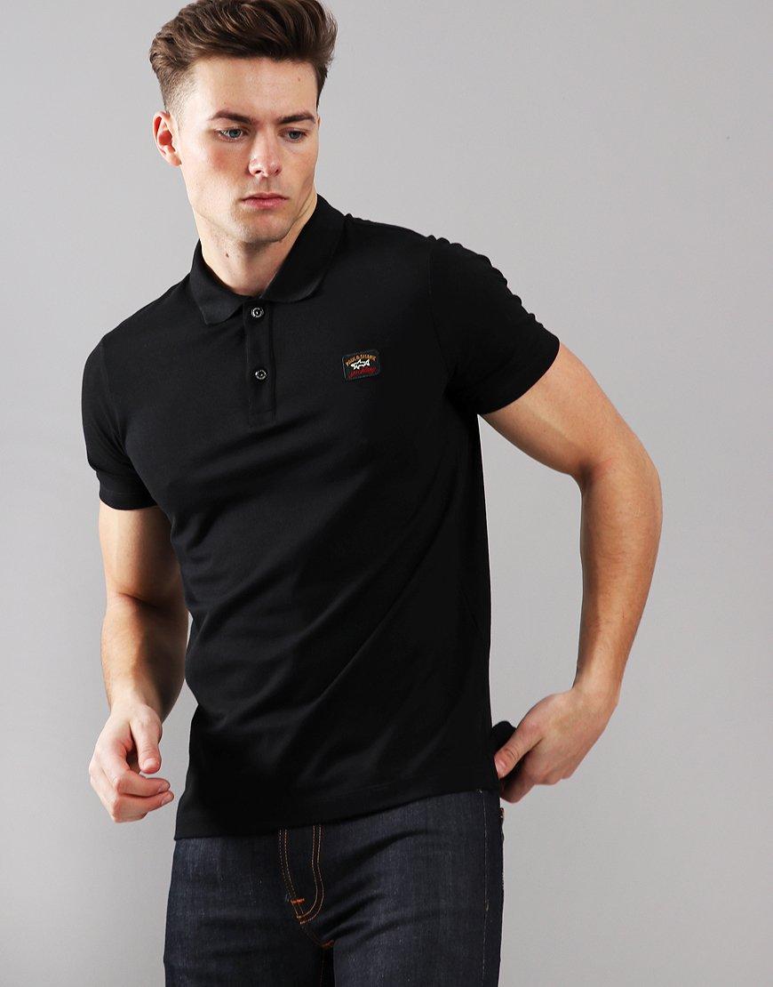 Paul & Shark Basic Polo Shirt Black