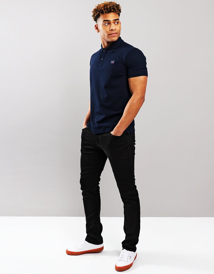 Paul & Shark Basic Polo Shirt Blue