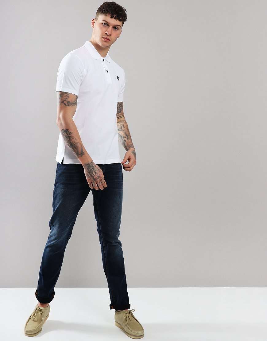 Paul & Shark Basic Polo Shirt White