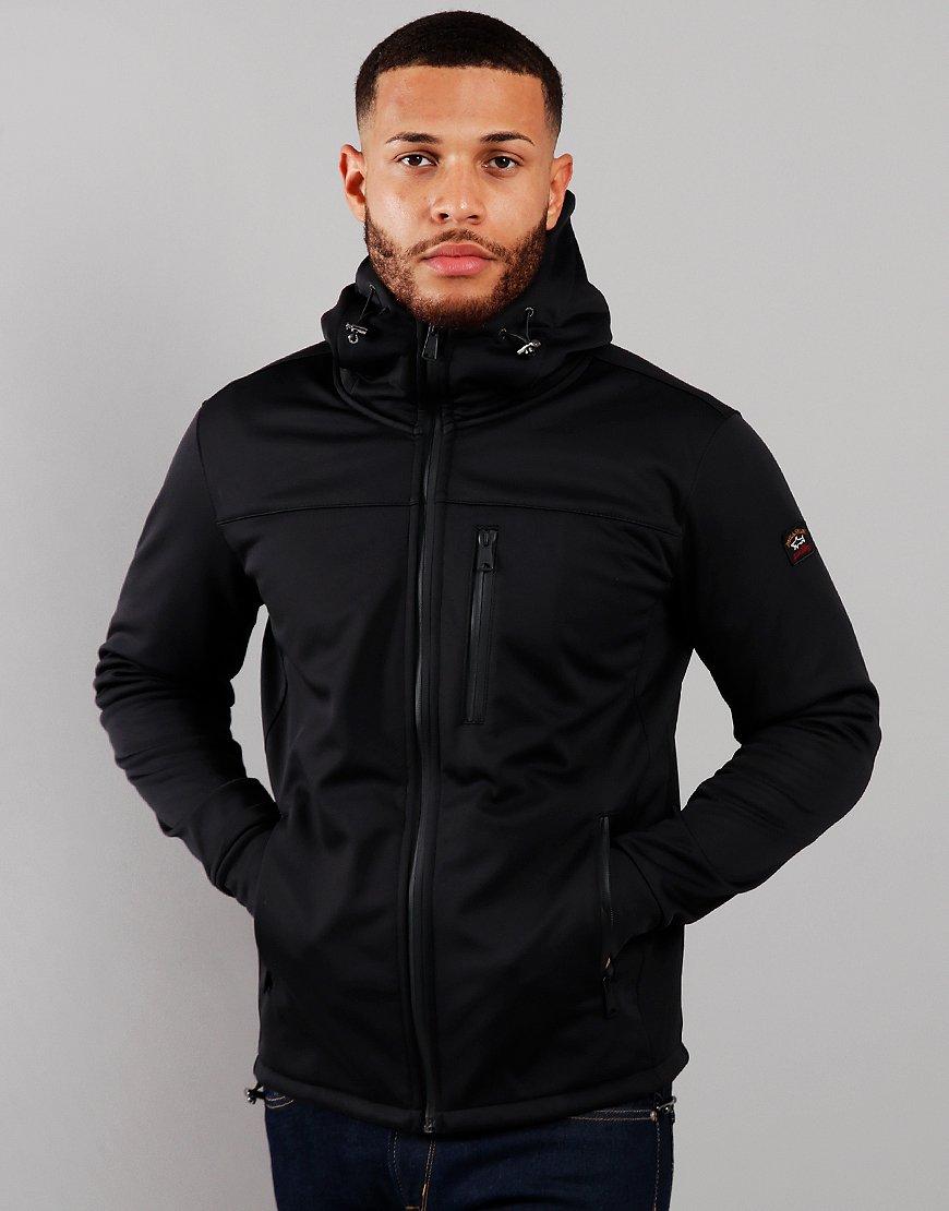 Paul & Shark Blouson Soft Shell Jacket Black