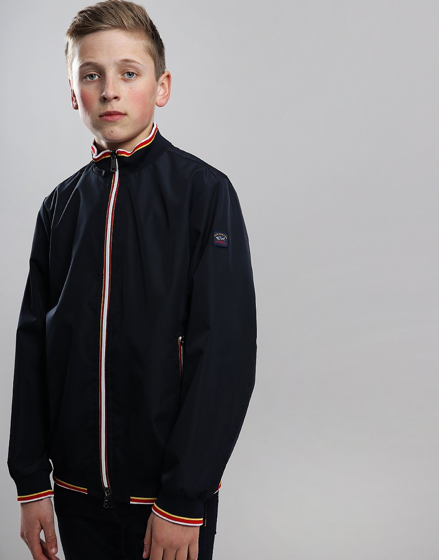 Paul & Shark Cadets Lightweight Woven Jacket Blue