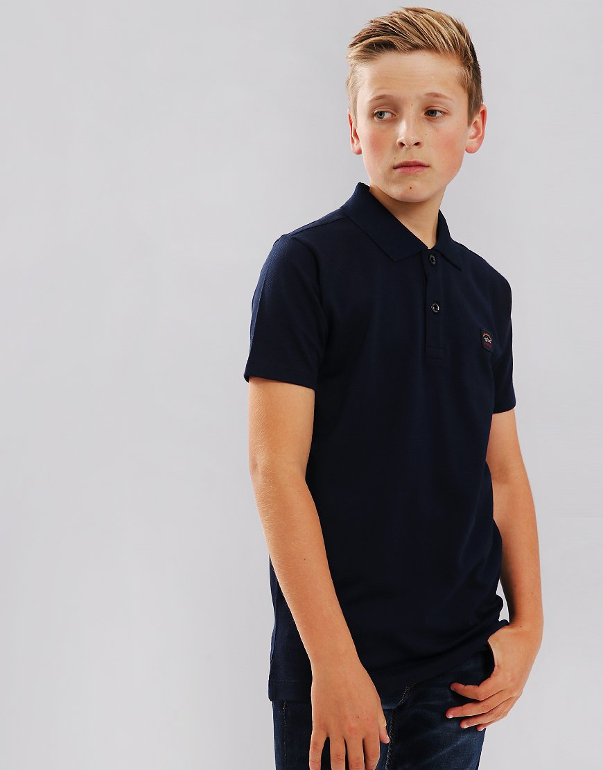 Paul & Shark Cadets Polo Shirt Blue