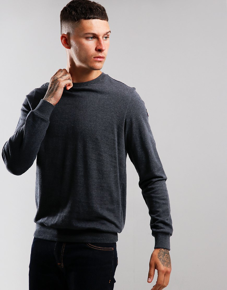 Paul & Shark Crew Neck Sweat Charcoal