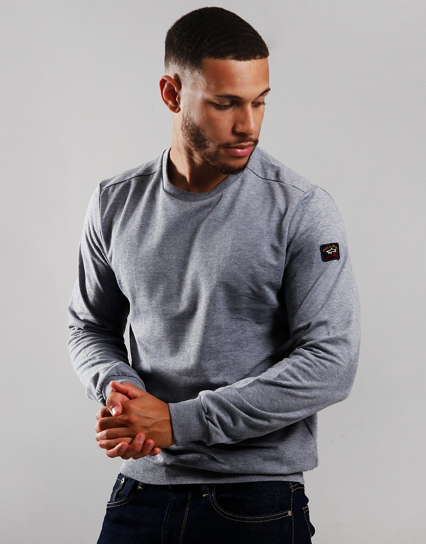 Paul & Shark Crew Neck Sweat Grey