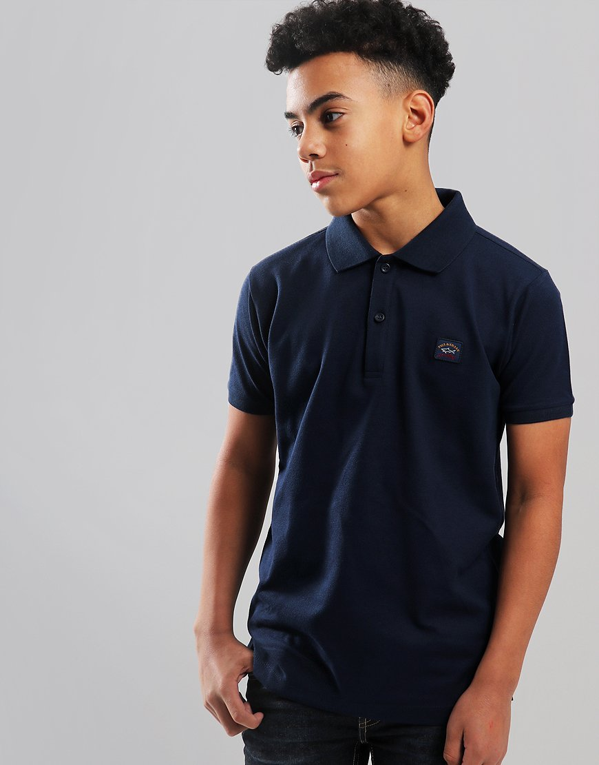 Paul & Shark Cadets Basic Polo Shirt Blue