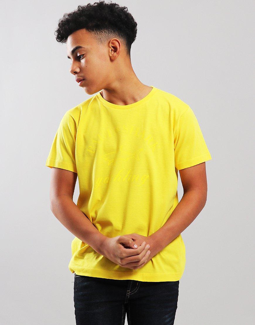 Paul & Shark Cadets Tonal Logo T-Shirt Yellow