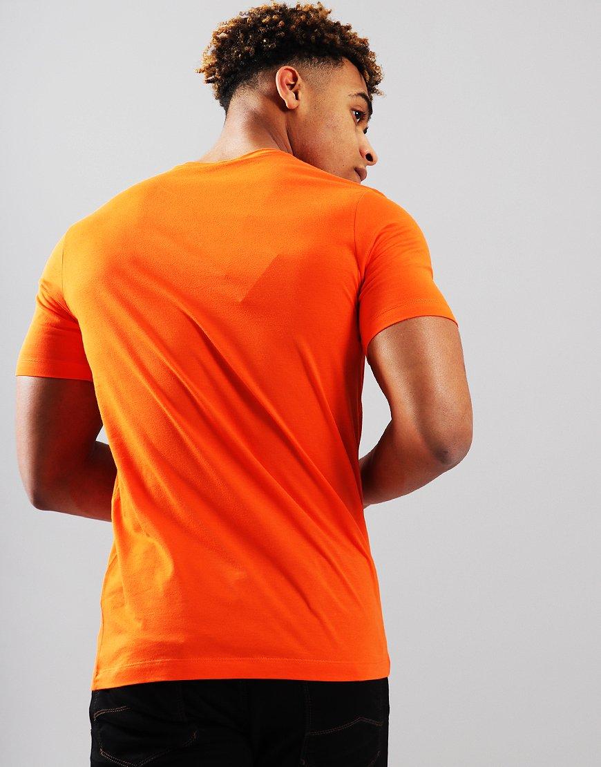 Paul & Shark Patch Logo T-Shirt Orange