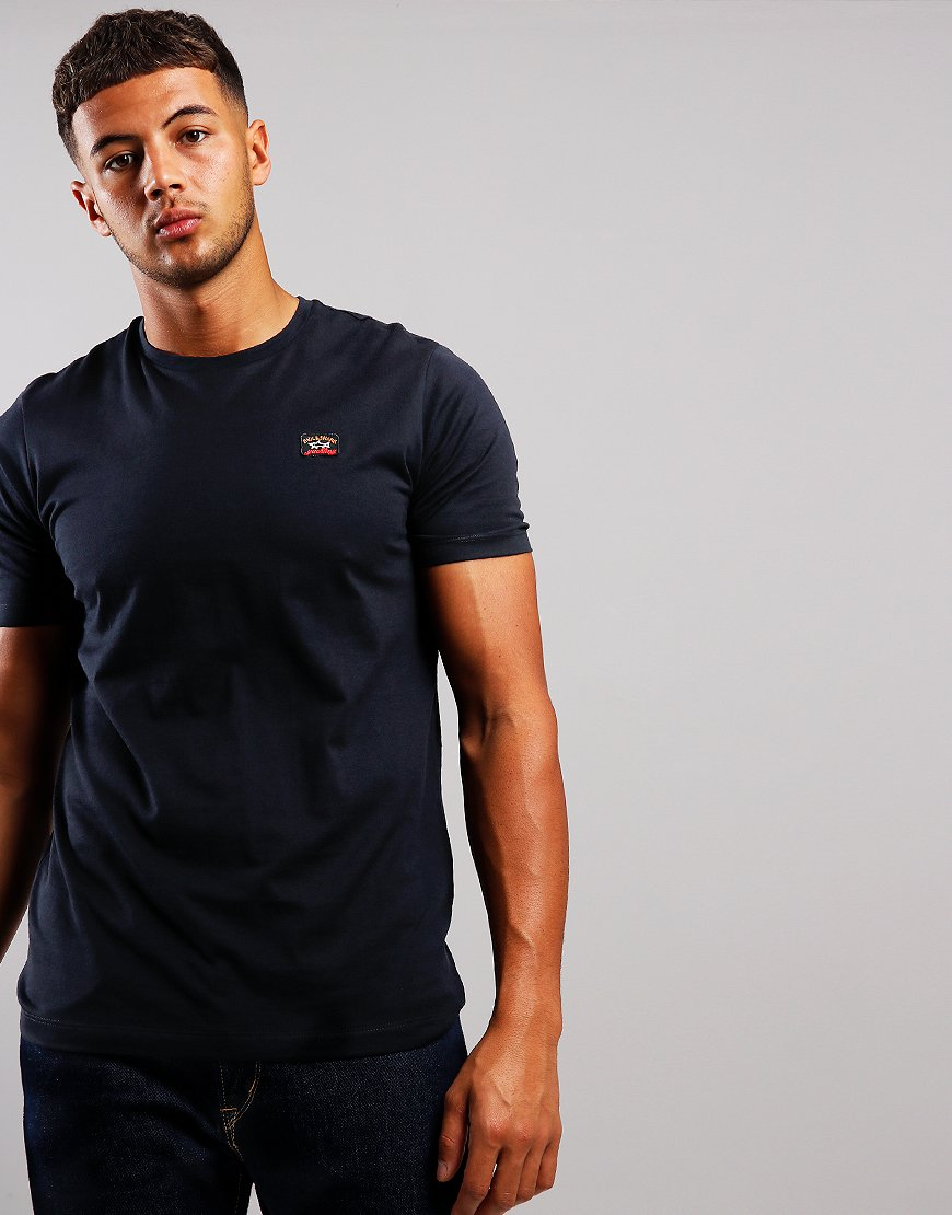 Paul & Shark Patch Logo T-Shirt Black