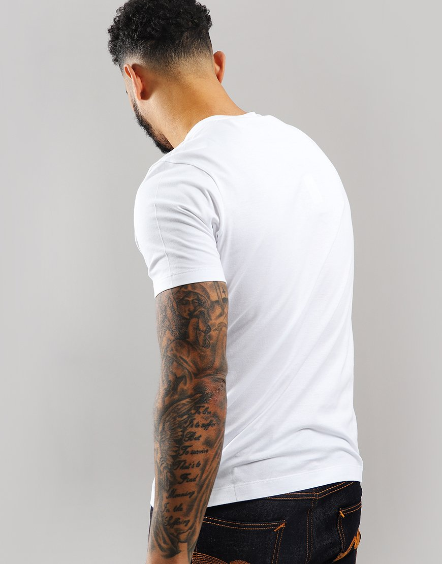 Paul & Shark Patch Logo T-Shirt White