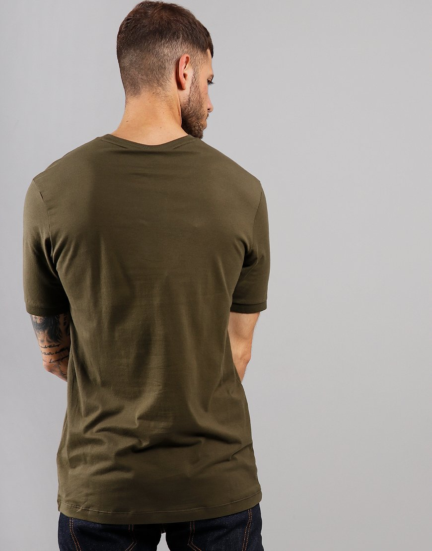Paul & Shark Classic Print T-Shirt Olive Green