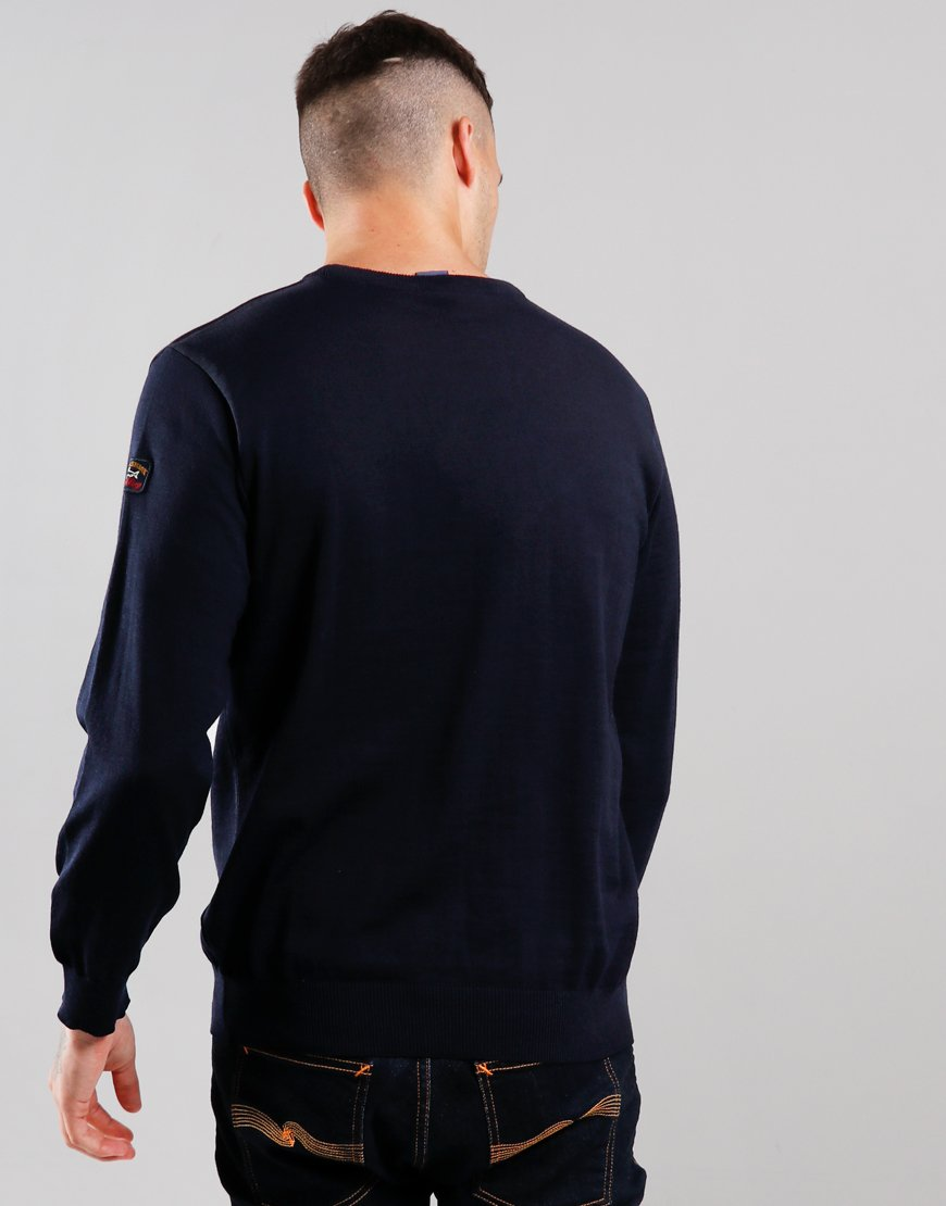 Paul & Shark Round Neck Knit Blue