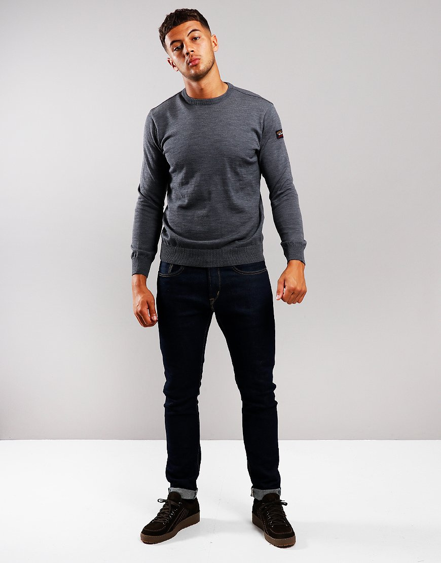 Paul & Shark Round Neck Knit Grey
