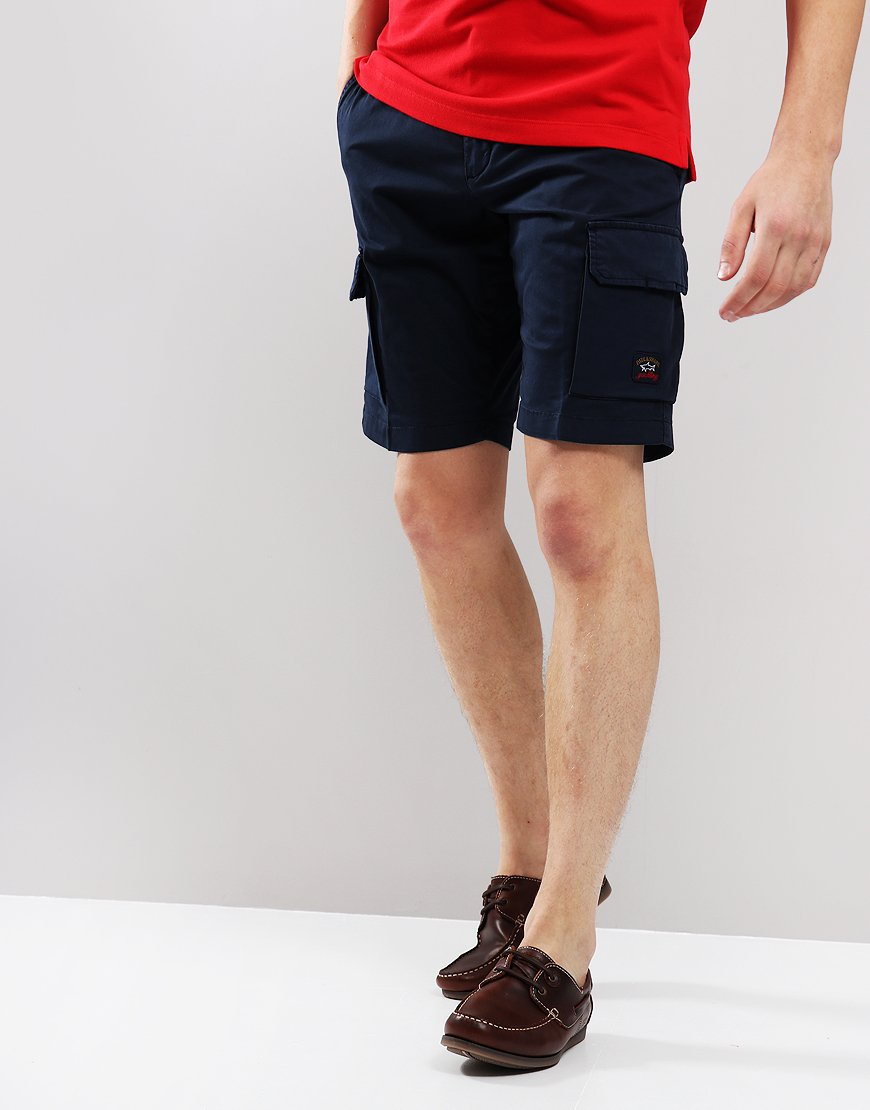 Paul & Shark Chino Pocket Shorts Navy Blue