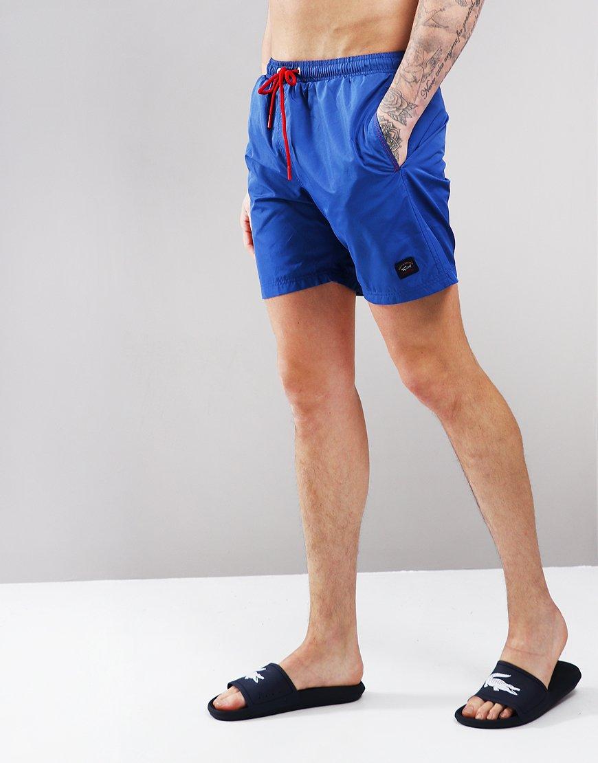 Paul & Shark Swim Shorts Royal Blue