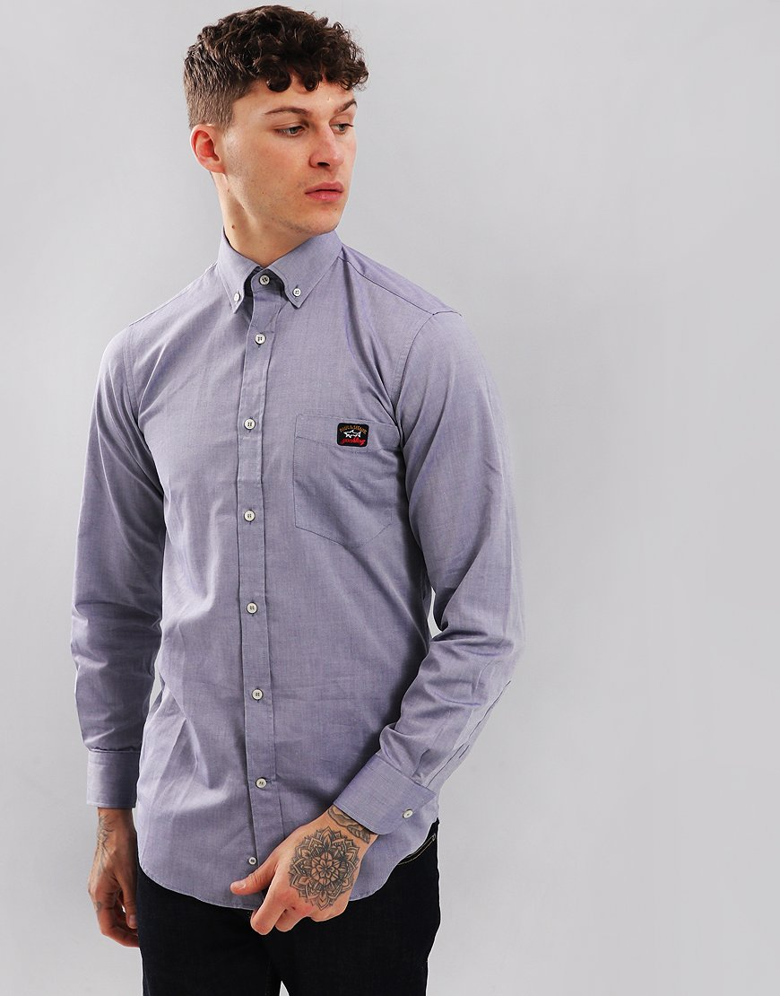 Paul & Shark Regular Fit Woven Shirt Blue