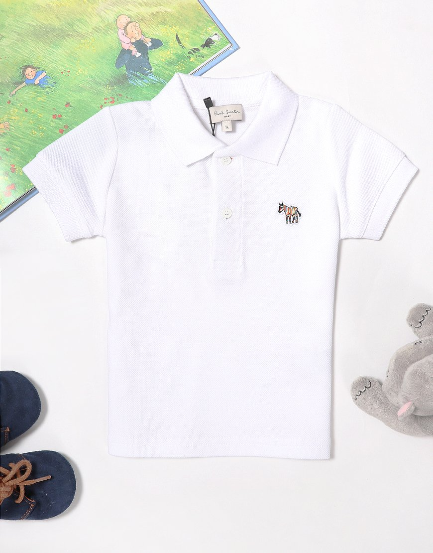 Paul Smith Baby Toine Polo Shirt White