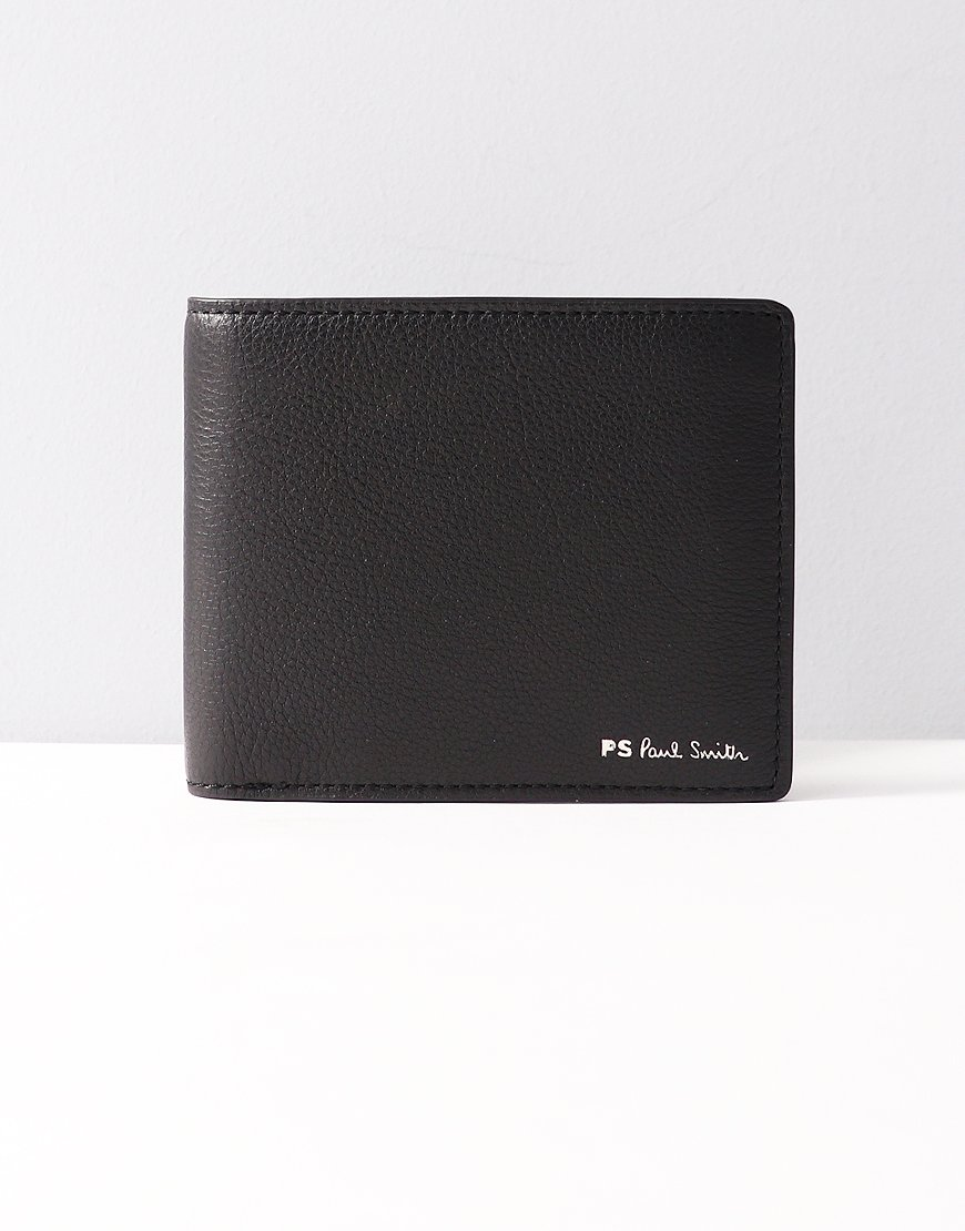 Paul Smith PS Stripe Billfold Wallet Black