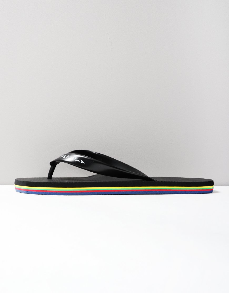 Paul Smith Dale Flip Flops Black