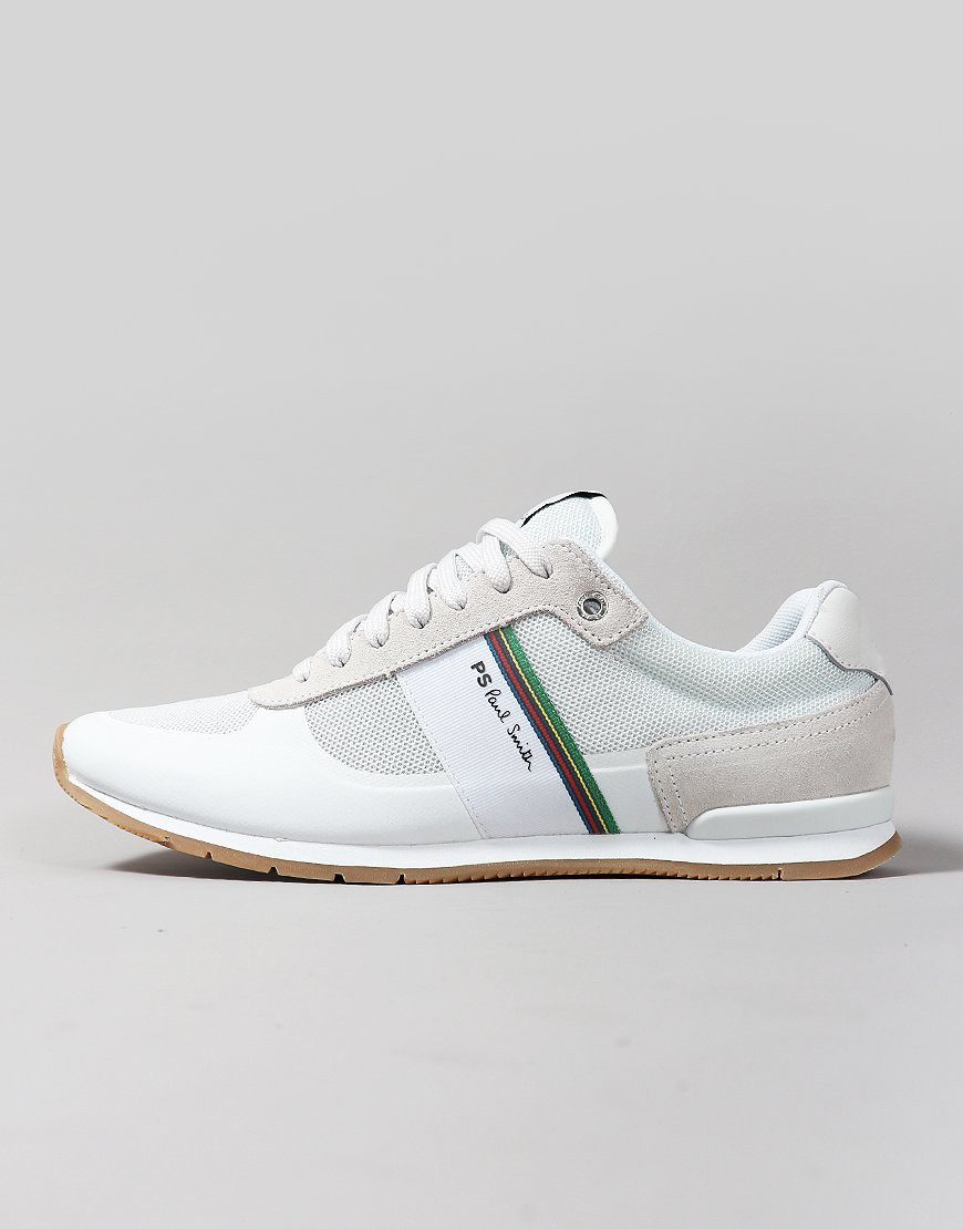Paul Smith Ericson Cycle Stripe Trainers Off White