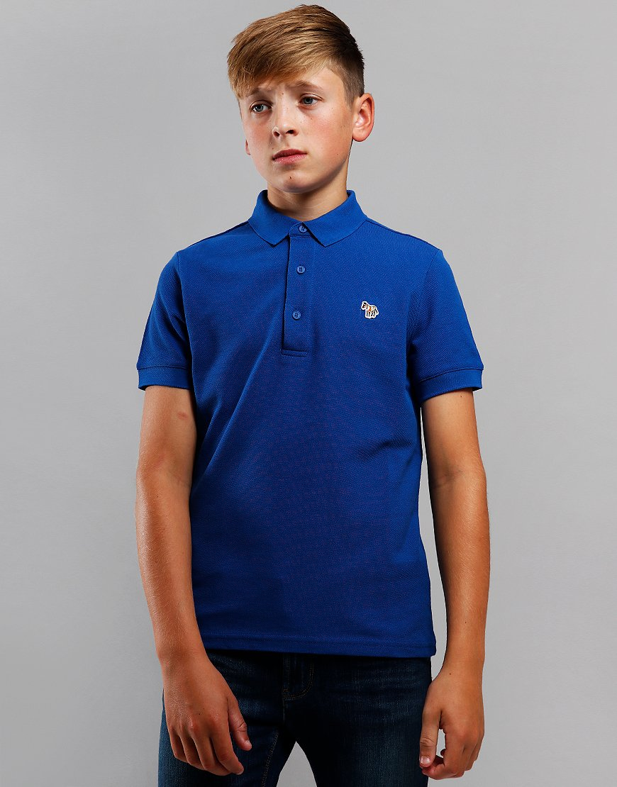 Paul Smith Junior Ridley Per Polo shirt Blue Quartz