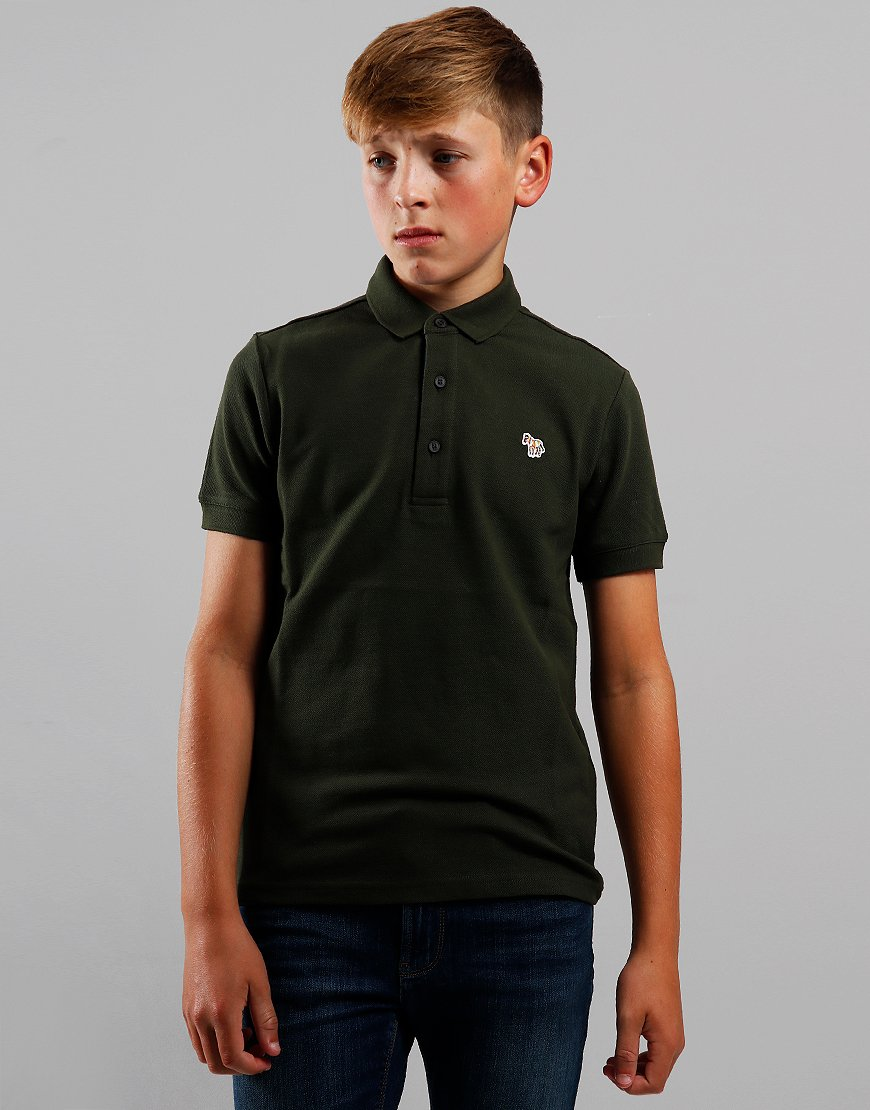 Paul Smith Junior Ridley Per Polo Shirt Rosin Khaki