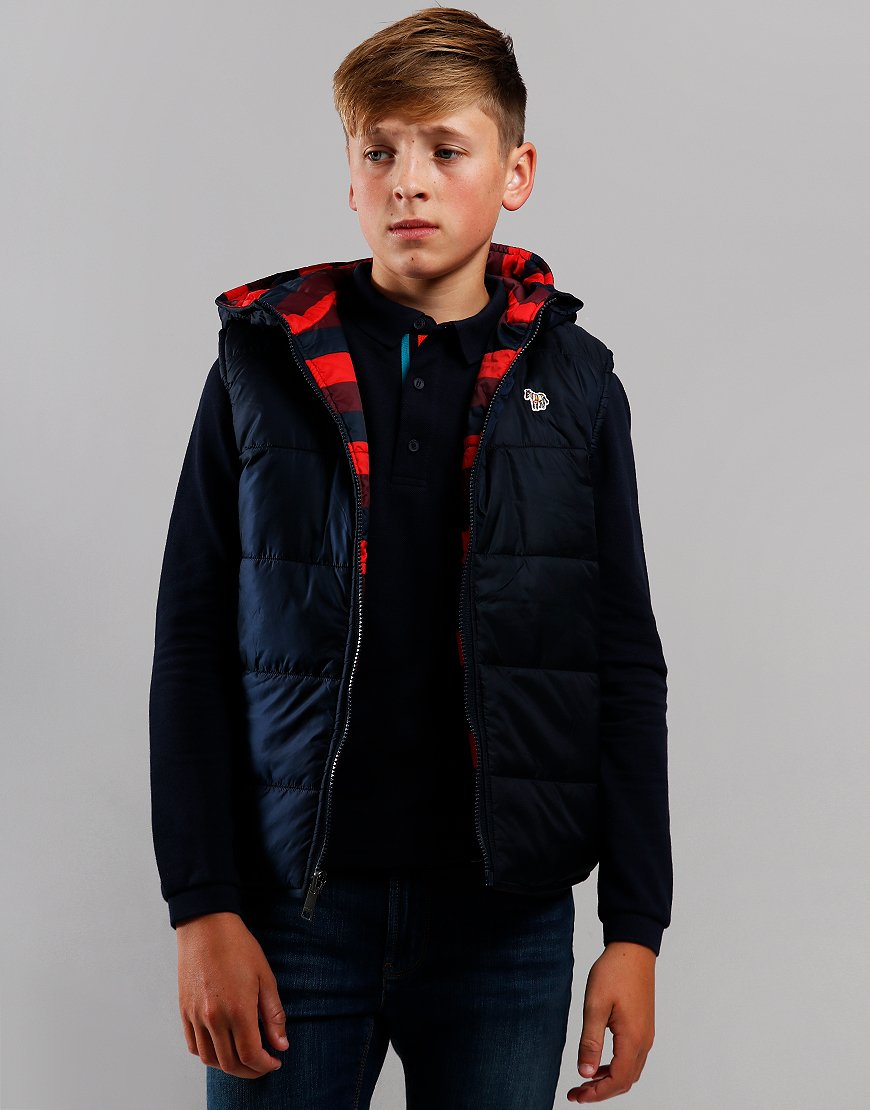 Paul Smith Junior Vairuna Gilet Navy