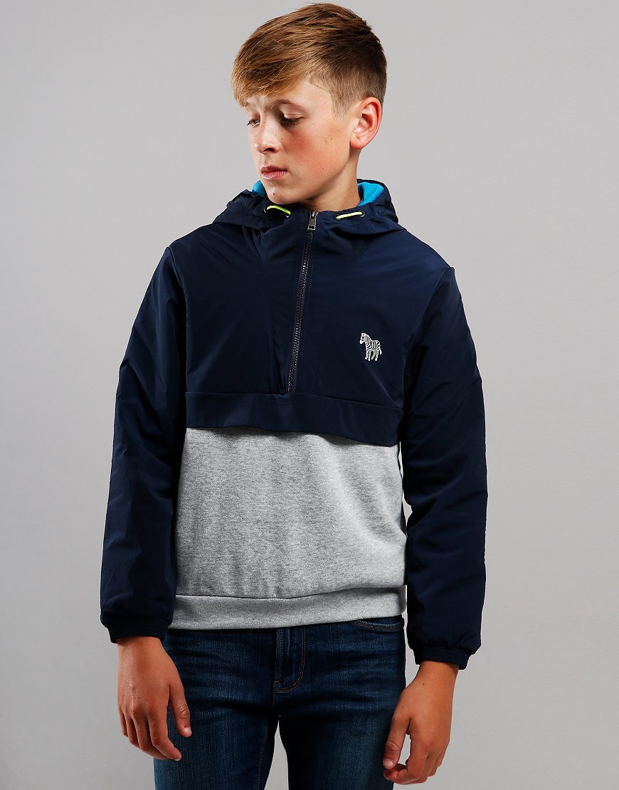 Paul Smith Junior Verdan Hooded Sweat Navy