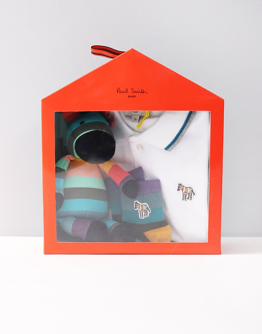 Paul Smith Junior Ricky New Born Gift Set Cream