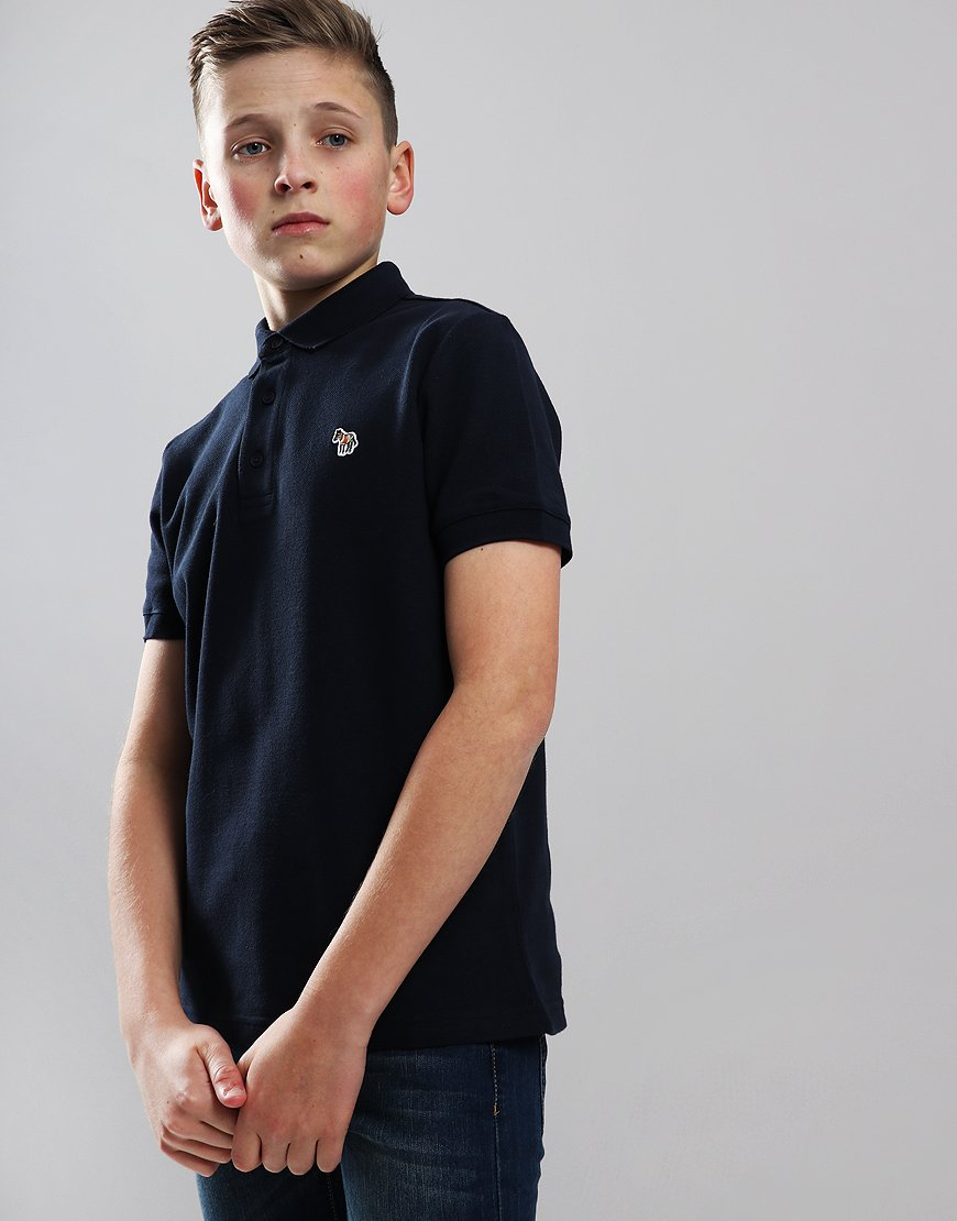 Paul Smith Junior Ridley Per Polo Shirt Dark Sapphire