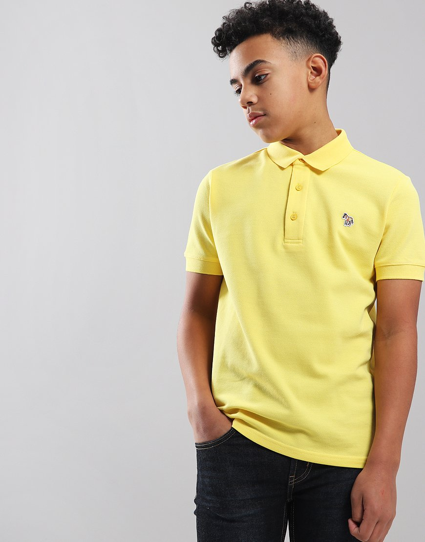 Paul Smith Junior Ridley Per Polo Shirt Primrose Yellow