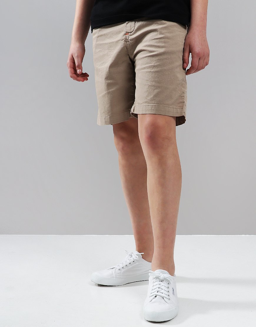 Paul Smith Junior Tatum Shorts Silver Mink